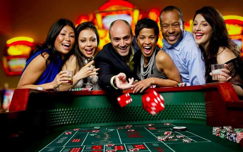 Craps au casino